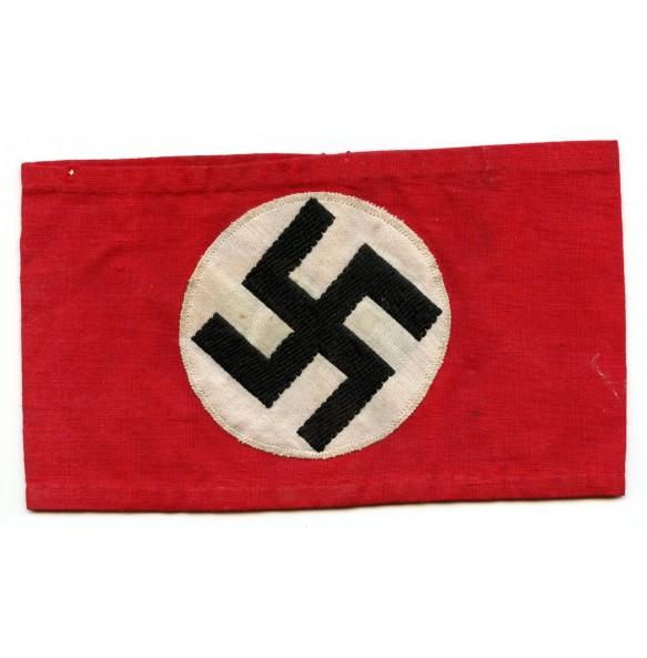 "Political armband ""wave pattern swastika"""