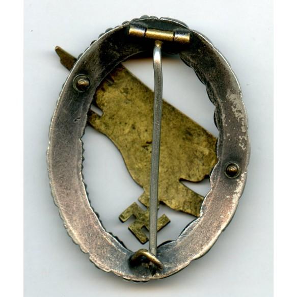 """Luftwaffe paratrooper badge by F.A. Assmann & Söhne """"A"""""""