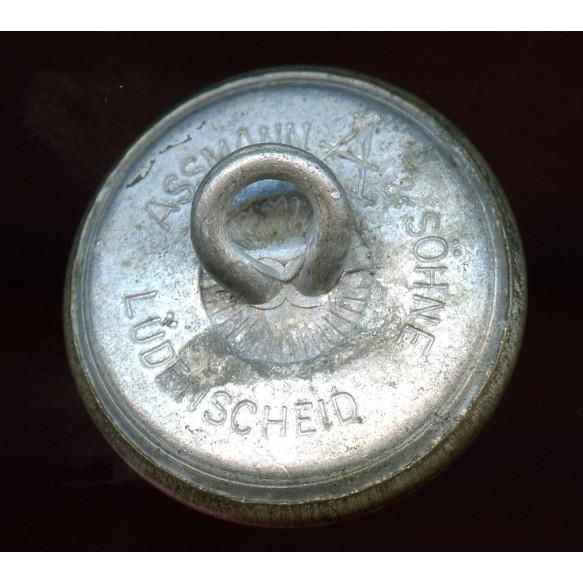 "Silver button for diplomat uniform by Assmann & Söhne ""A"""