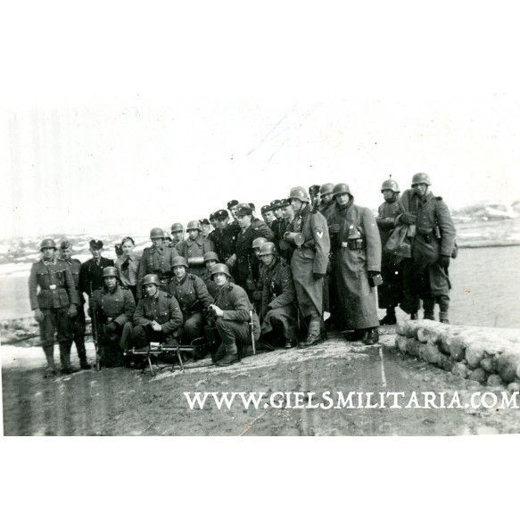 """Private snapshot """"Germanske SS Norge"""" Hirden troops training with SS Totenkopf"""