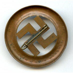 1933 Munich putch remembrance pin by Deschler & Sohn