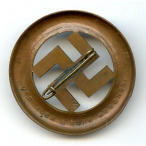 1933 Munich putch remembrance pin by Deschler & Sohn