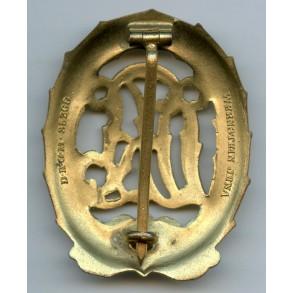 DRL sport badge in gold by Wernstein MINT