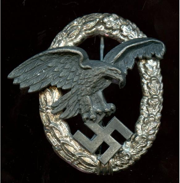 Luftwaffe observer badge by P. Meybauer