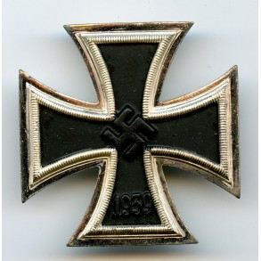 "1939 Iron Cross 1st class by Steinhauer & Lück ""4"" MINT"