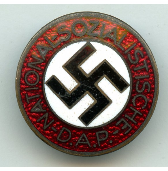 """Party pin by H. Aurich """"M1/105"""""""