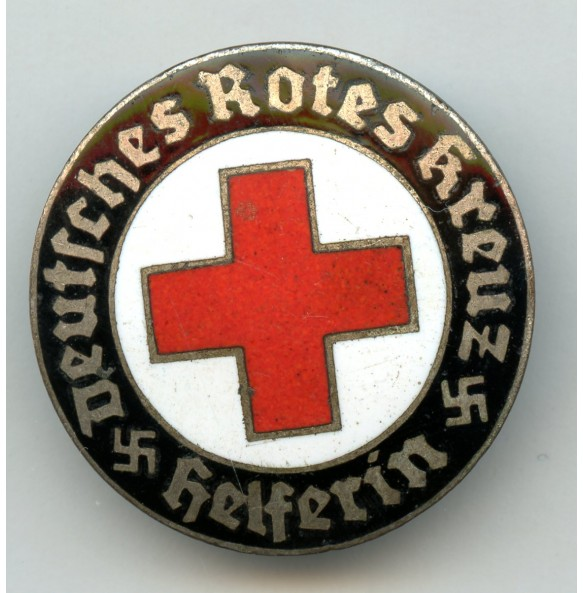 DRK red cross memberships pin by H. Aurich