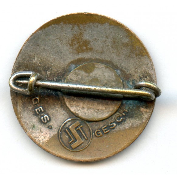 Party pin by Steinhauer & Lück, early logo