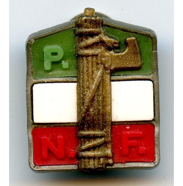 """Italian """"Partito Nazionale Fascista"""" membership pin"""