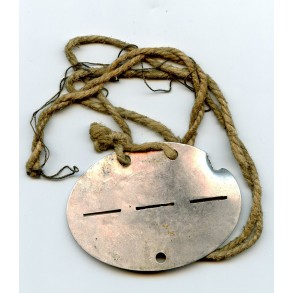 Dog tag 4./Pz. Abw. Ers. Abt. 6