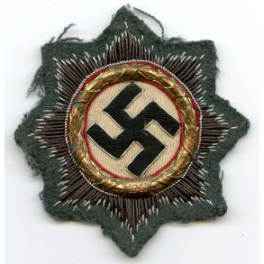 German cross in gold for Wehrmacht troops