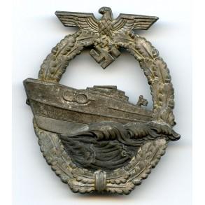 Kriegsmarine S-boot badge by Schwerin Berlin
