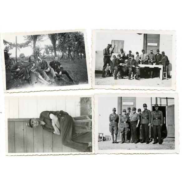 Private snapshot Feldgendarmerie ITALY 1943