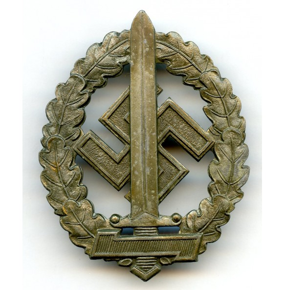 """SA sport badge for war wounded by Werner Redo, Saarlautern """"M1/100"""""""