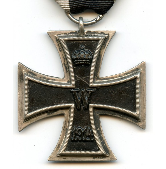 "WW1 Iron cross 2nd class by ""K.A.G."""