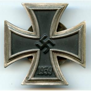 """Iron cross 1st class by A. Rettenmaier, screwbacl """"L/59"""" + X mark!"""