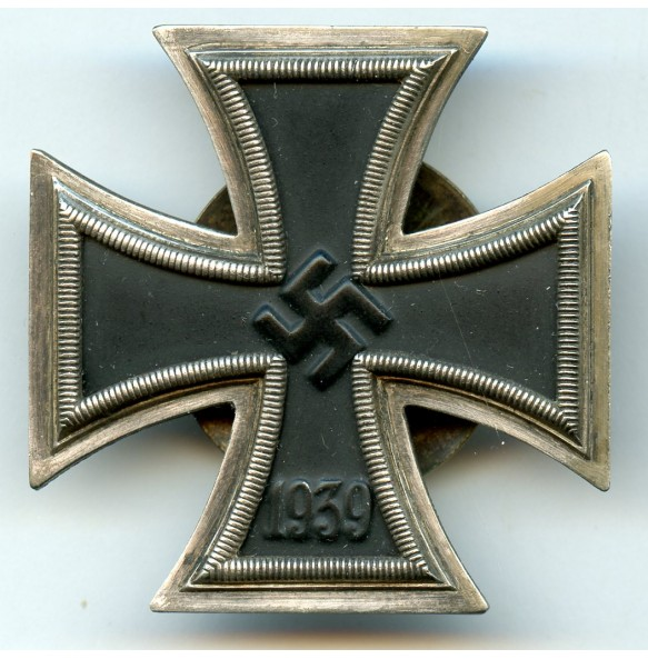 "Iron cross 1st class by A. Rettenmaier, screwbacl ""L/59"" + X mark!"