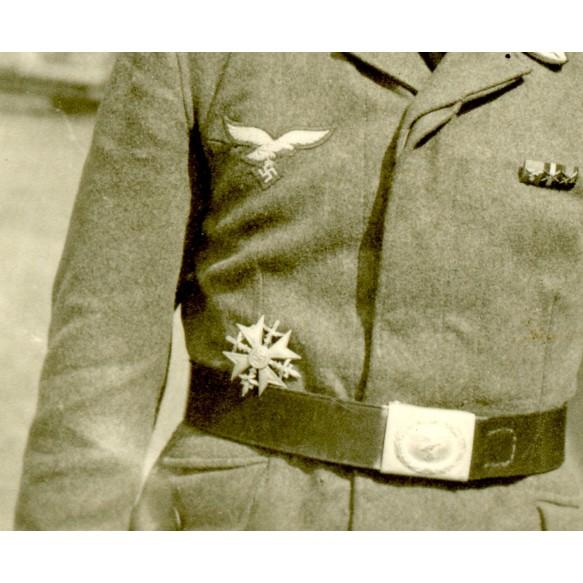 Private snapshot spanish cross in silver in wear