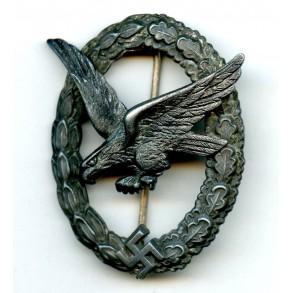 """Luftwaffe airgunner badge by F.W. Assmann & Söhne """"A"""""""