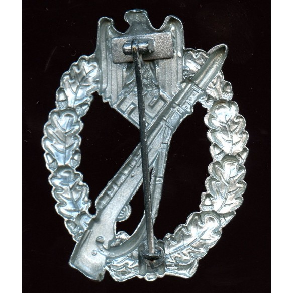 Infantry assault badge in silver by W. Deumer MINT