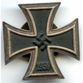 """Iron cross 1st class by A. Rettenmaier, screwback """"L/59"""" + """"^"""" mark!"""
