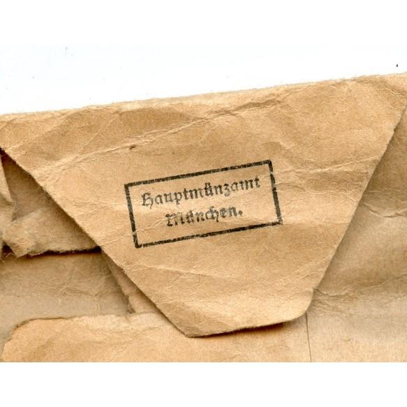 Social welfare medal + package by Hauptmünzambt München