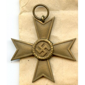 "War merit cross 2nd class by Deschler & Sohn ""1"" + package"