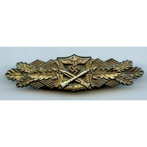 Close combat clasp in bronze by Josef Feix, 2nd pattern