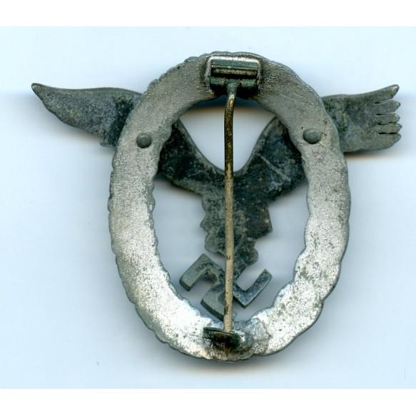 Luftwaffe pilot badge by F. Linden