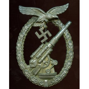 "Luftwaffe flak badge by G. Brehmer ""G.B."""