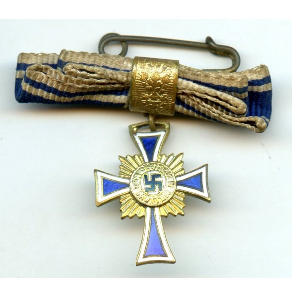 Mother cross in gold miniature, luxury style