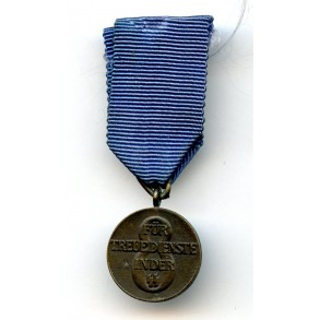 SS 8 year service medal 16mm miniature