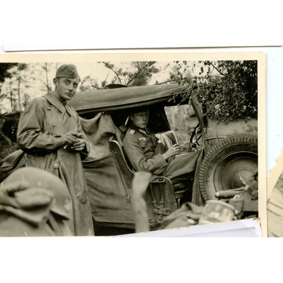 Small photo lot German Wehrmacht officer