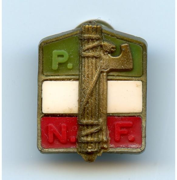 """Italian """"Partito Nazionale Fascista"""" pin"""