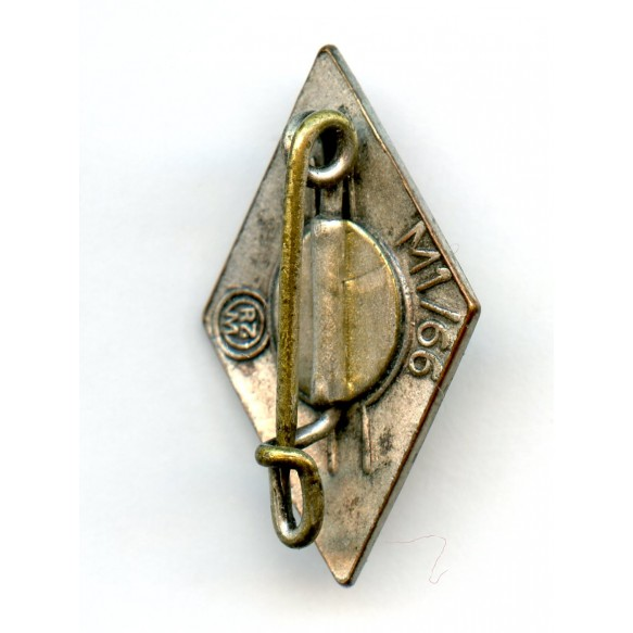 "HJ membership diamond pin by Fritz Kohm ""M1/66"""
