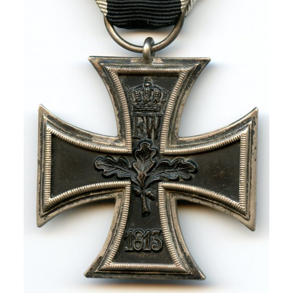 WW1 Iron cross 2nd class with Iron Cross clasp 2nd class by B.H. Mayer