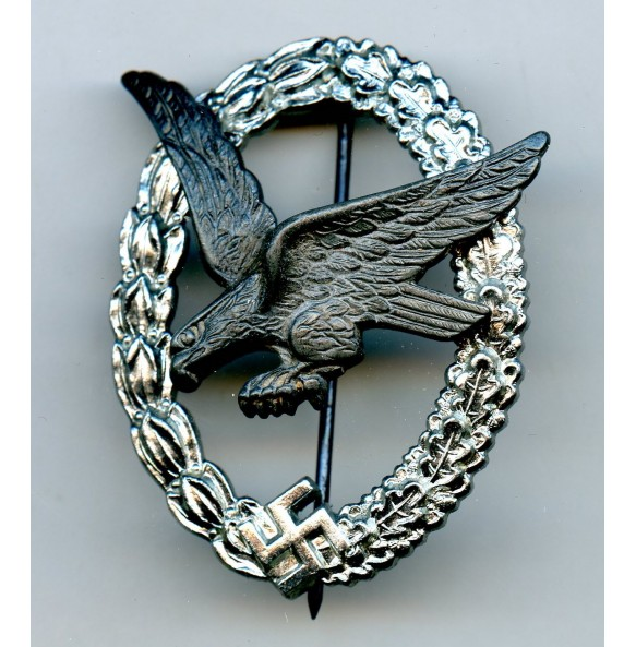 Luftwaffe Airgunner badge by Berg & Nolte MINT