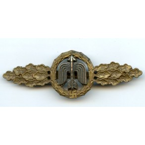 Luftwaffe fighter clasp in bronze