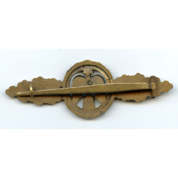 Luftwaffe fighter clasp in bronze