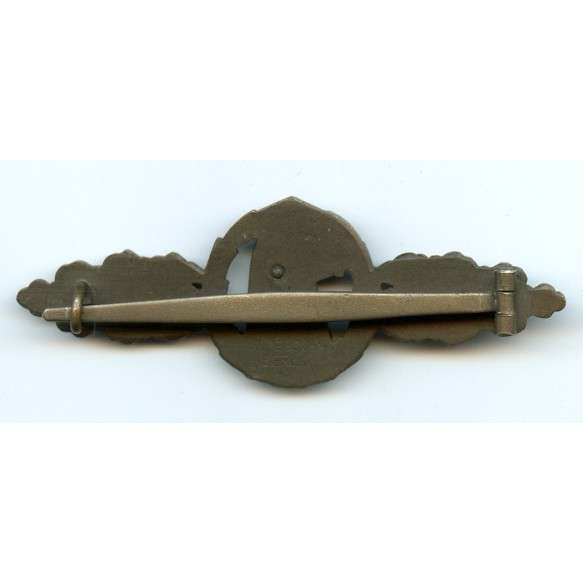 Luftwaffe reconnaissance clasp in bronze by IMME & Sohn