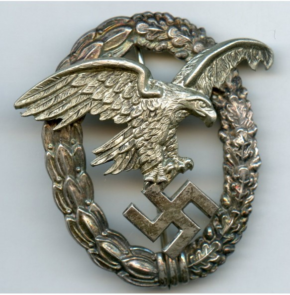 "Luftwaffe observer badge by Gebr. Wegerhoff ""GWL"""