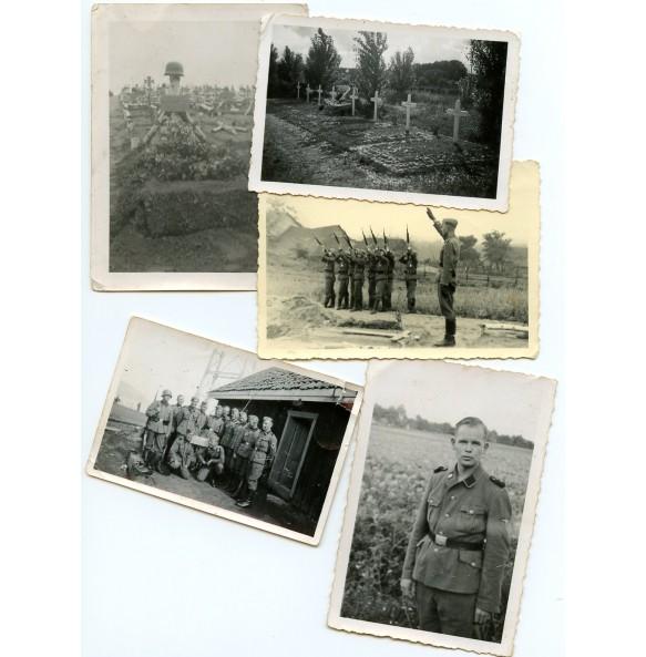 Small SS Totenkopf photo group