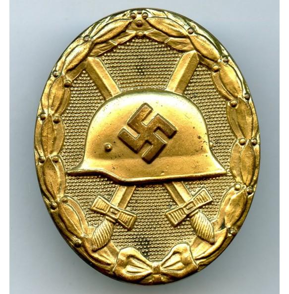 "Wound badge in gold by Hauptmünzamt Wien ""30"""