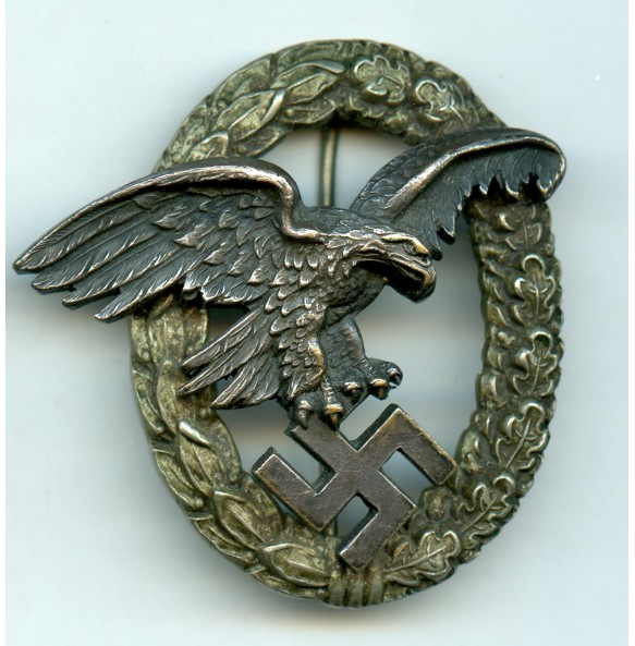Luftwaffe observer badge by C.E. Juncker