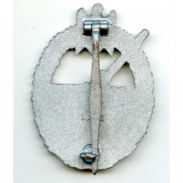 "Coastal artillery badge by Funcke & Brünninghaus ""L/56"""