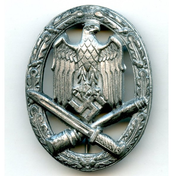 General Assault Badge in silver by Rudolf Karneth