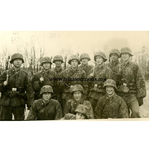 Private photo SS Totenkopf in France 1943 Saint-Jean-d'Angély