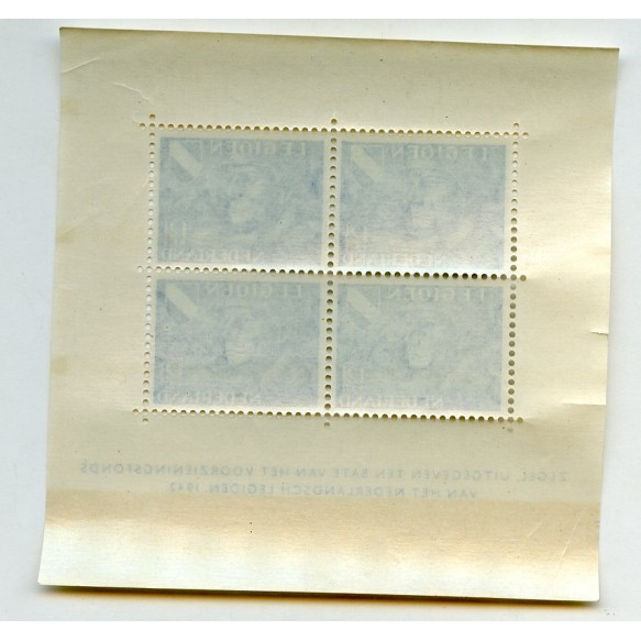 "Volunteer legion ""Nederland"" stamps 1942"