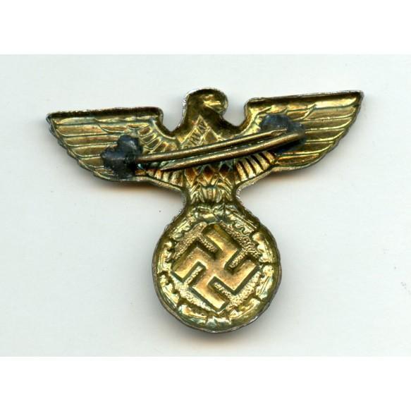 """Railroad visor cap eagle by Assmann und Söhne """"M1/17"""" + """"A"""" logo"""