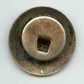 """Party pin by Fritz Zimmermann """"M1/72"""""""